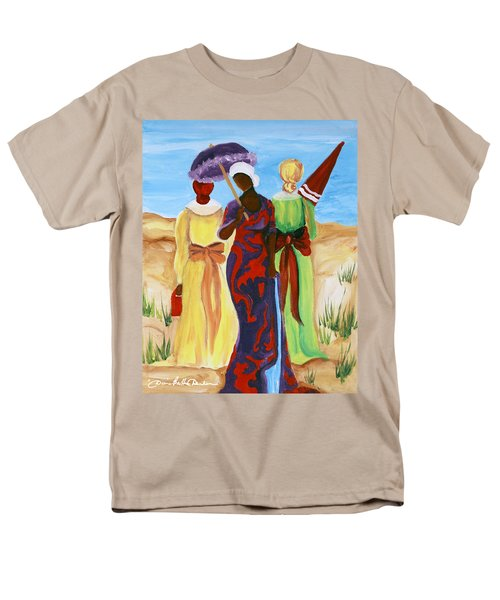 3 Ladies Men's T-Shirt  (Regular Fit) by Diane Britton Dunham