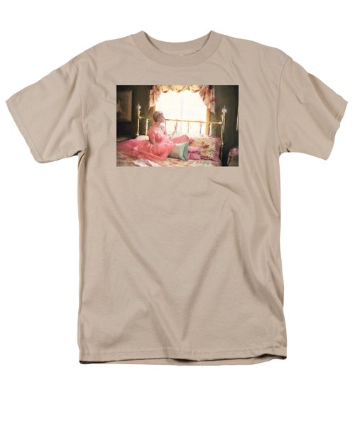 Vintage Val Bedroom Dreams Men's T-Shirt  (Regular Fit) by Jill Wellington