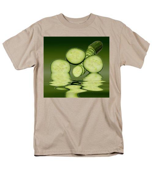 Cool As A Cucumber Slices Men's T-Shirt  (Regular Fit)