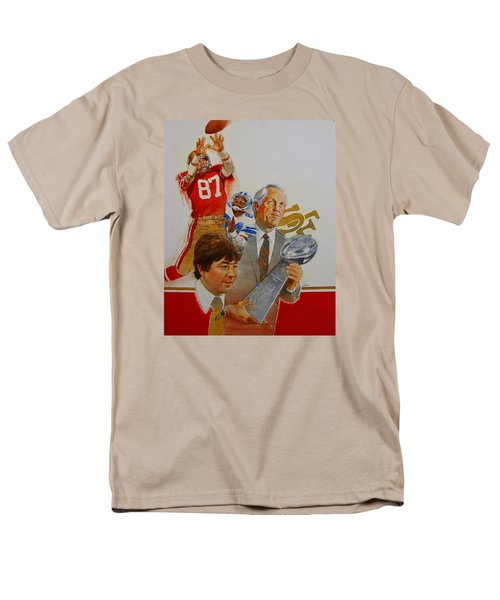49rs Media Guide Cover 1982 Men's T-Shirt  (Regular Fit) by Cliff Spohn