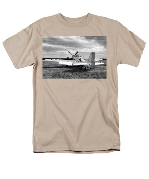Men's T-Shirt  (Regular Fit) featuring the photograph 51 Shades Of Grey by Peter Chilelli