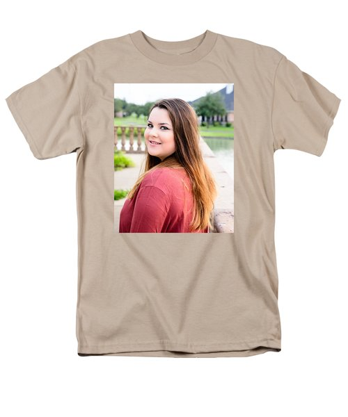 Men's T-Shirt  (Regular Fit) featuring the photograph 5609-2 by Teresa Blanton