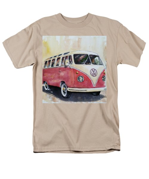'63 V.w. Bus Men's T-Shirt  (Regular Fit) by William Reed
