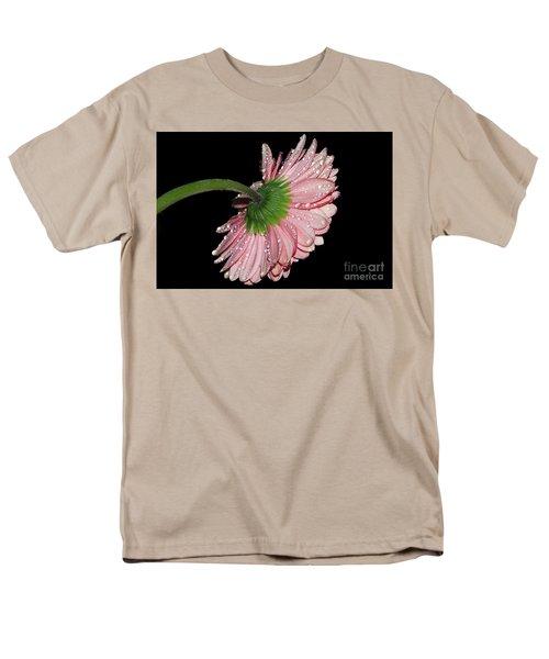 Pink Gerber Men's T-Shirt  (Regular Fit) by Elvira Ladocki