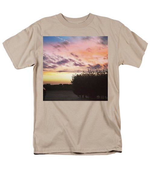 A Beautiful Morning Sky At 06:30 This Men's T-Shirt  (Regular Fit) by John Edwards