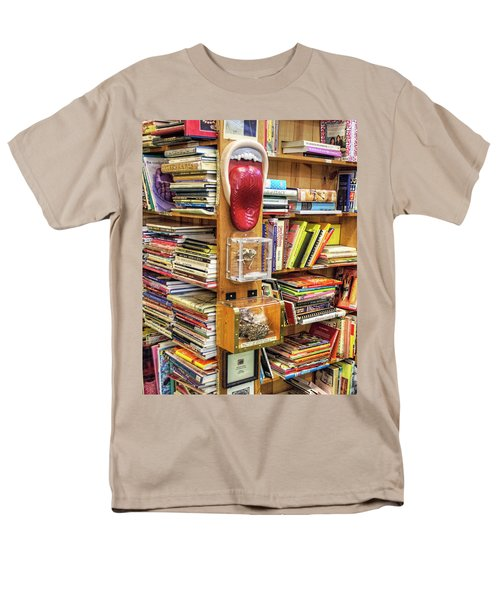 A Bookstore For All Tastes Men's T-Shirt  (Regular Fit) by Greg Sigrist