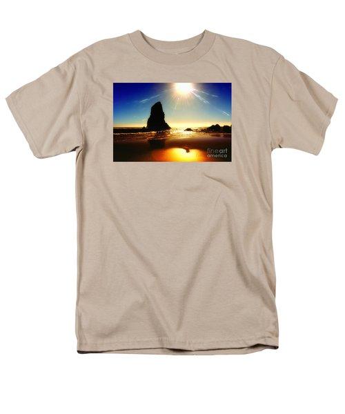 A Fire In The Sky Men's T-Shirt  (Regular Fit) by Scott Cameron