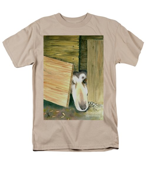 Men's T-Shirt  (Regular Fit) featuring the painting A Great Escape  -variation 2 by Yoshiko Mishina