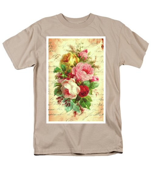 A Rose Speaks Of Love Men's T-Shirt  (Regular Fit) by Tina LeCour