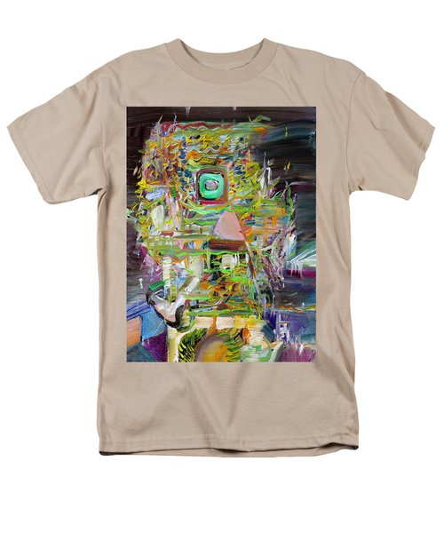Men's T-Shirt  (Regular Fit) featuring the painting A Small Portion Of Herself by Fabrizio Cassetta