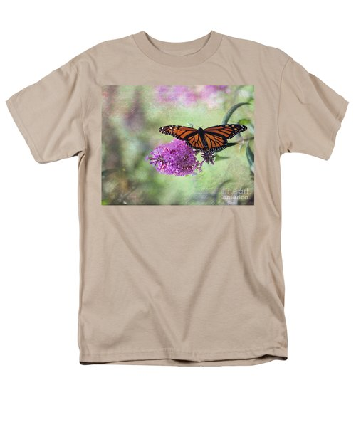 Men's T-Shirt  (Regular Fit) featuring the photograph A Touch Of Spring by Laurinda Bowling