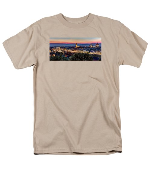 Men's T-Shirt  (Regular Fit) featuring the photograph A View Of Florence by Brent Durken
