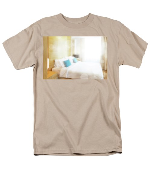 Men's T-Shirt  (Regular Fit) featuring the photograph Abstract Bedroom by Atiketta Sangasaeng