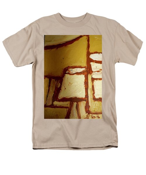 Abstract Lamp Number 4 Men's T-Shirt  (Regular Fit) by Shea Holliman