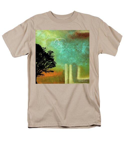Abstract Modern Art Eternity Men's T-Shirt  (Regular Fit) by Saribelle Rodriguez