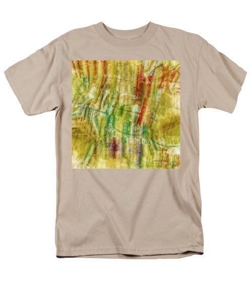 Men's T-Shirt  (Regular Fit) featuring the digital art Abstract Sunday by Deborah Benoit
