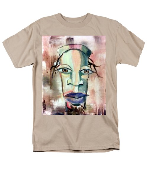 Abstract Young Man #2 Men's T-Shirt  (Regular Fit) by Raymond Doward