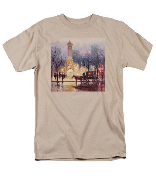 Acrylic Msc 054 Men's T-Shirt  (Regular Fit) by Mario Sergio Calzi