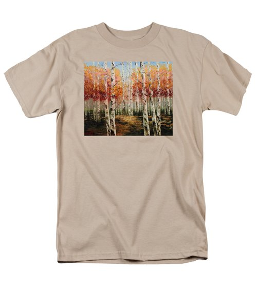 Acrylic Msc 096 Men's T-Shirt  (Regular Fit) by Mario Sergio Calzi
