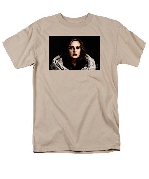 Adele Men's T-Shirt  (Regular Fit) by The DigArtisT