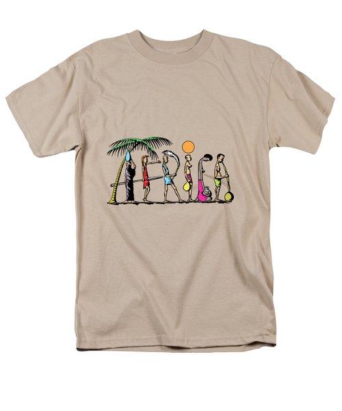 Africa Men's T-Shirt  (Regular Fit) by Anthony Mwangi
