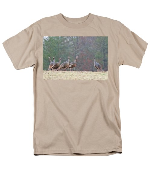 Men's T-Shirt  (Regular Fit) featuring the photograph Against The Crowd 1287 by Michael Peychich