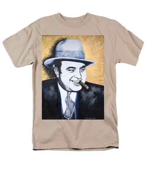 Al Capone Men's T-Shirt  (Regular Fit) by Victor Minca