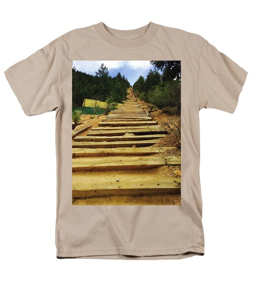 All The Way Up Men's T-Shirt  (Regular Fit) by Christin Brodie