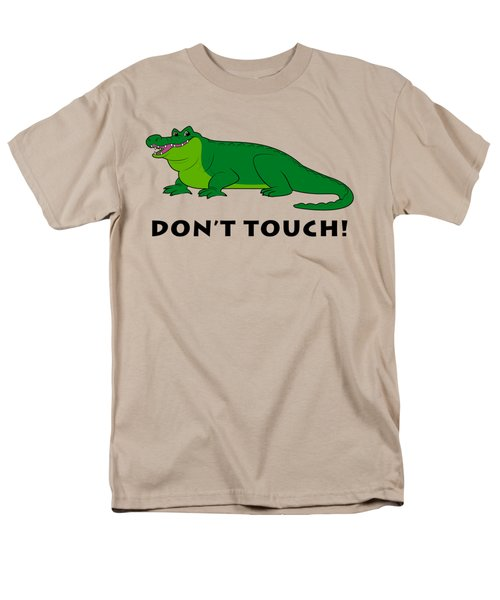 Alligator Don't Touch Men's T-Shirt  (Regular Fit)