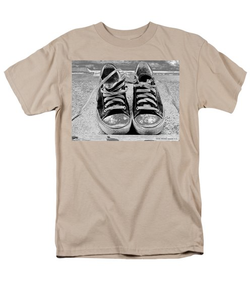 Old Sneakers. Men's T-Shirt  (Regular Fit) by Don Pedro De Gracia