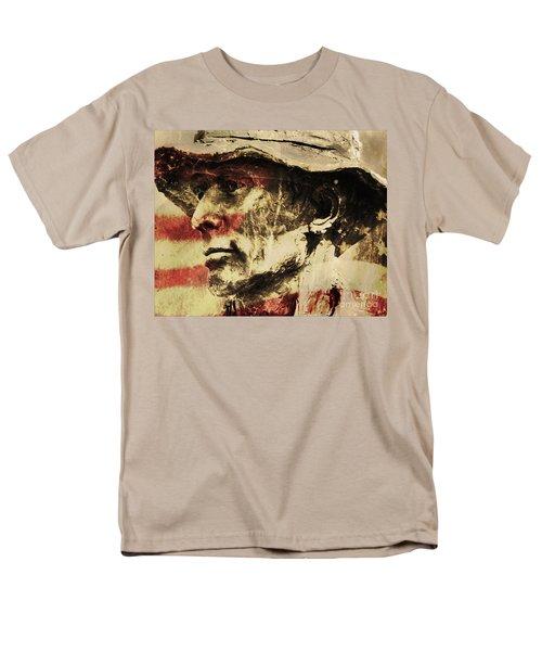 American Patriot Men's T-Shirt  (Regular Fit) by Kathleen K Parker