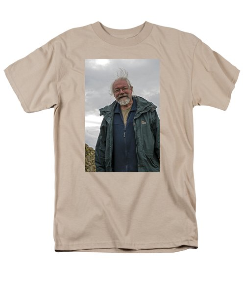 Men's T-Shirt  (Regular Fit) featuring the photograph An Englishman In Castlerigg, Uk by Dubi Roman