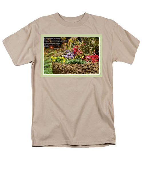 And So In This Moment With Sunlight Above II Men's T-Shirt  (Regular Fit) by Jim Fitzpatrick