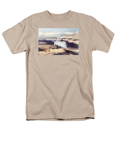 Another Flathead River Image Men's T-Shirt  (Regular Fit) by Janie Johnson