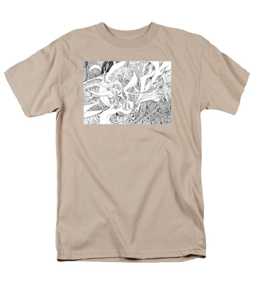 Another Kind Of Peace Men's T-Shirt  (Regular Fit) by Charles Cater