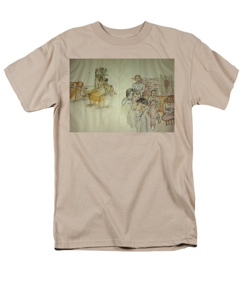 Another Look At Mental Illness Album Men's T-Shirt  (Regular Fit) by Debbi Saccomanno Chan