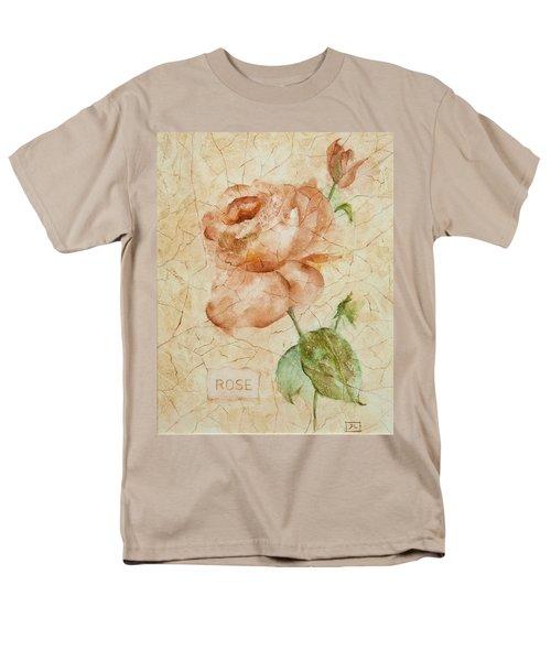 Antique Rose Men's T-Shirt  (Regular Fit) by Debbie Lewis