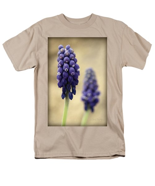Men's T-Shirt  (Regular Fit) featuring the photograph April Indigo by Chris Berry
