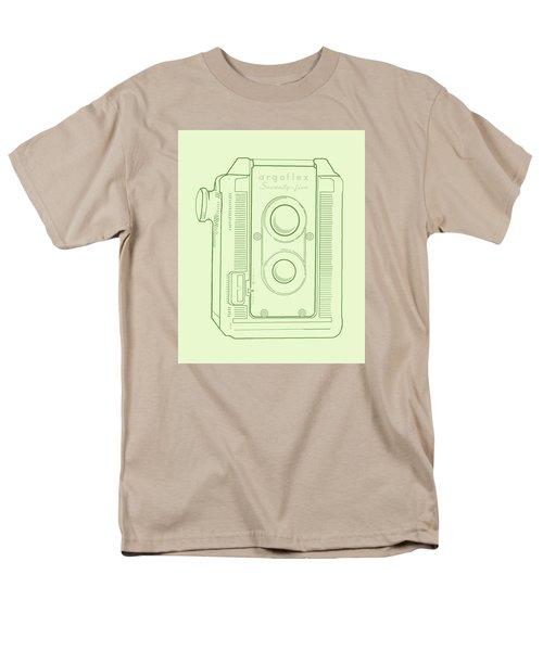 Argoflex Green Men's T-Shirt  (Regular Fit) by Christina Lihani