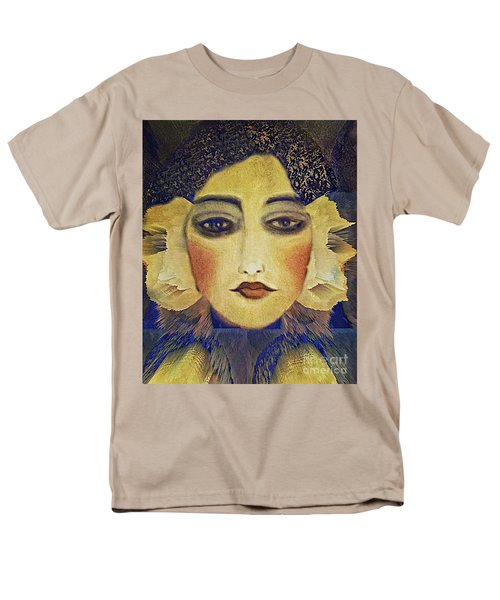 Men's T-Shirt  (Regular Fit) featuring the digital art Art Deco  Beauty by Alexis Rotella