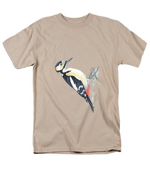 Great Spotted Woodpecker Men's T-Shirt  (Regular Fit)