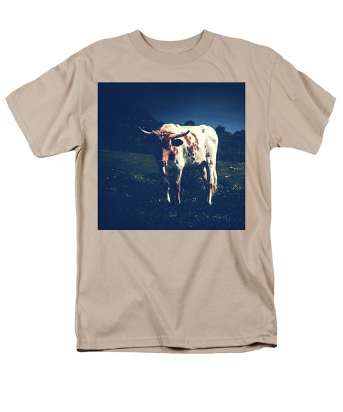 Men's T-Shirt  (Regular Fit) featuring the photograph Midnight Encounter by Sharon Mau
