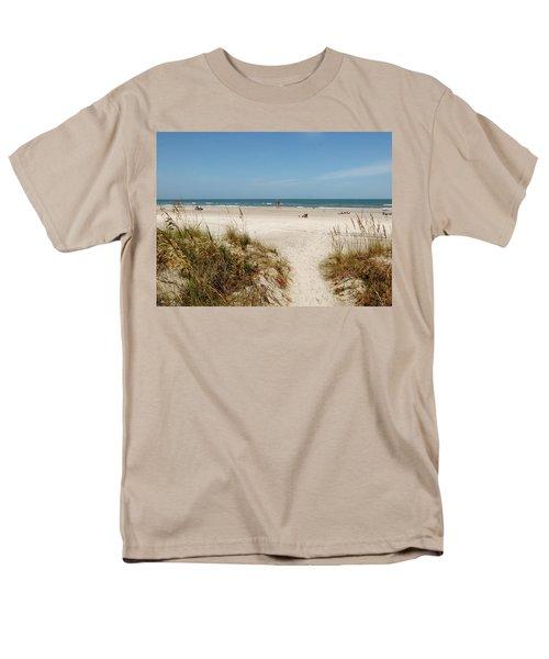 On The Beach Men's T-Shirt  (Regular Fit) by Amar Sheow