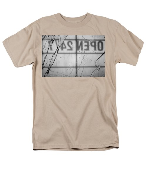 Men's T-Shirt  (Regular Fit) featuring the photograph At The Car Wash by Colleen Coccia