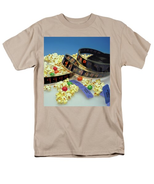 At The Movies  Men's T-Shirt  (Regular Fit) by Marie Hicks