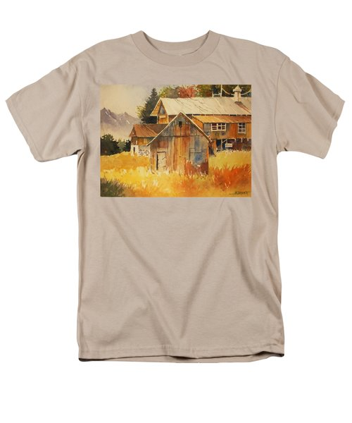 Autumn Barn And Sheds Men's T-Shirt  (Regular Fit) by Al Brown