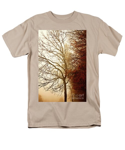 Men's T-Shirt  (Regular Fit) featuring the photograph Autumn Morning by Stephanie Frey