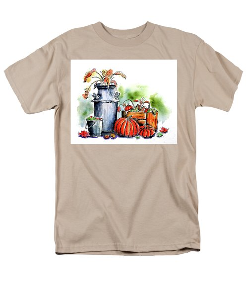 Men's T-Shirt  (Regular Fit) featuring the painting Autumn Still Life 1 by Terry Banderas