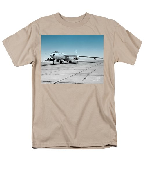 Men's T-Shirt  (Regular Fit) featuring the photograph B47a Stratojet - 1 by Greg Moores