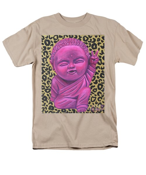 Men's T-Shirt  (Regular Fit) featuring the painting Baby Buddha 2 by Ashley Price